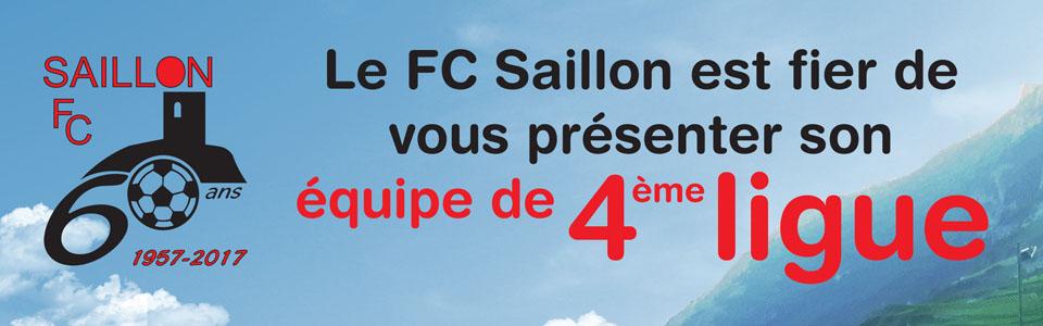 Une nouvelle équipe pour le FC Saillon